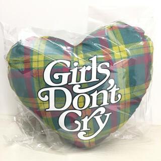 ジーディーシー(GDC)のgirls dont cry verdy ISETAN ハートクッション(クッション)