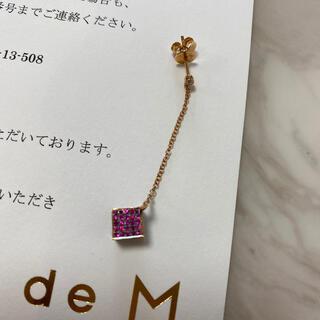 ティファニー(Tiffany & Co.)のビジュードエムピアス(ピアス)
