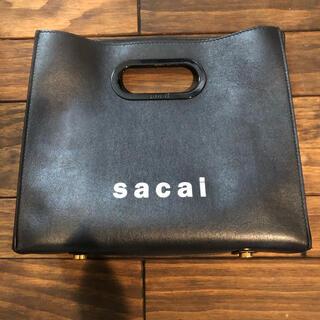 サカイ(sacai)のsacai サカイ バッグ ダメージあり(ハンドバッグ)