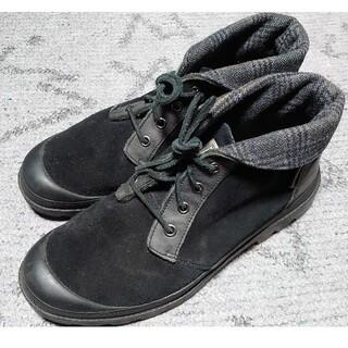 ヴァンズ(VANS)のVANS WATCHBILL スエード ブーツ ブラック 28cm(ブーツ)
