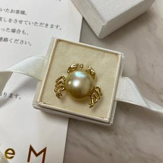 ティファニー(Tiffany & Co.)のビジュードエム カニブローチ(ブローチ/コサージュ)