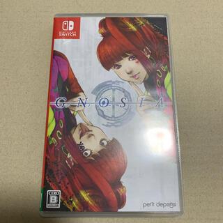 ニンテンドースイッチ(Nintendo Switch)の任天堂スイッチ Switch グノーシア 美品(家庭用ゲームソフト)