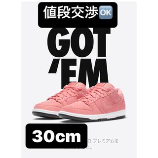 """ナイキ(NIKE)の30cm NIKE SB DUNK LOW PRO PRM """"PINK PIG""""(スニーカー)"""