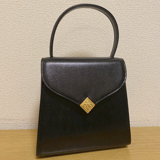 ユキコハナイ(Yukiko Hanai)の美品★YUKIKO HANAI ユキコハナイ 2wayハンドバッグ 黒 冠婚葬祭(ハンドバッグ)