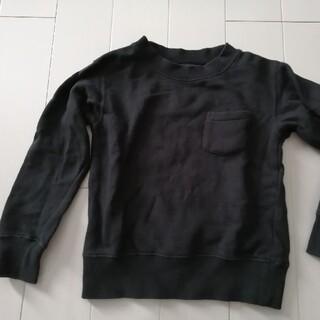 アーバンリサーチ(URBAN RESEARCH)のアーバンリサーチ 黒 トレーナー 110(Tシャツ/カットソー)