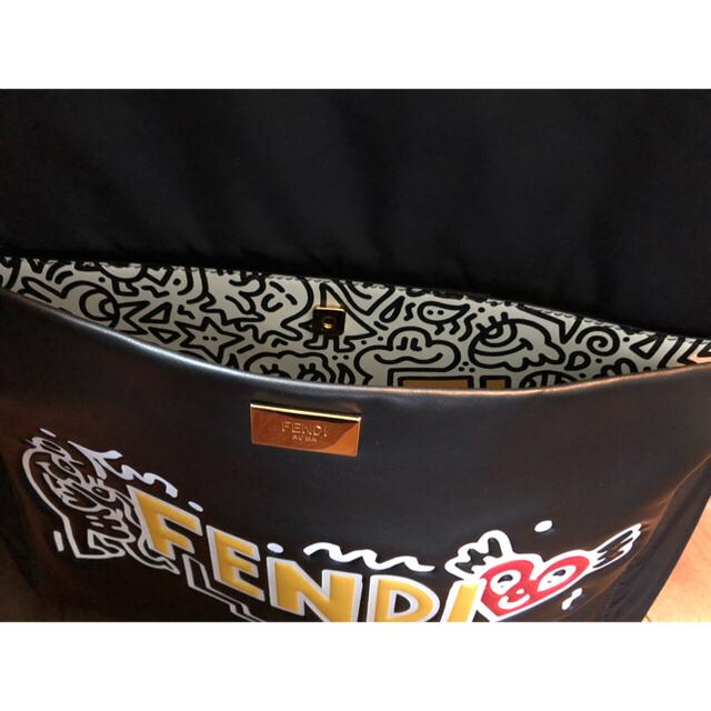 FENDI(フェンディ)のFENDI Mr. Doodle バックパック フェンディ リュック ピーカブー メンズのバッグ(バッグパック/リュック)の商品写真