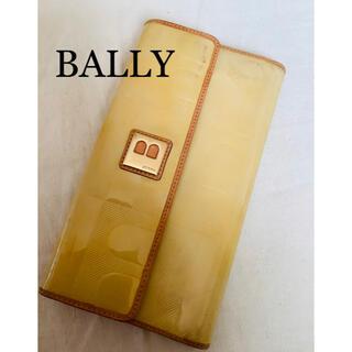 バリー(Bally)のBALLY バリーの黄色いエナメル財布(財布)