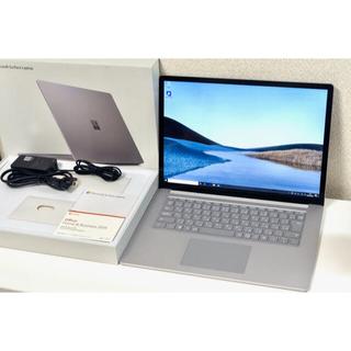 マイクロソフト(Microsoft)のMicrosoft Surface Laptop3 15インチ Office(ノートPC)