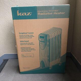 新品未使用 kaz オイルヒーター KCV1211(ストーブ)