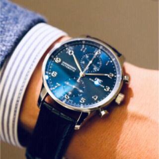 インターナショナルウォッチカンパニー(IWC)のIWC  ポルトギーゼクロノグラフ 高年式 極美品 ベルト未使用 オマケ2本付 (腕時計(アナログ))