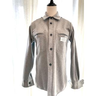 マルタンマルジェラ(Maison Martin Margiela)のメゾンマルジェラ  ウールシャツジャケット ブルゾン リバーシブル (ブルゾン)
