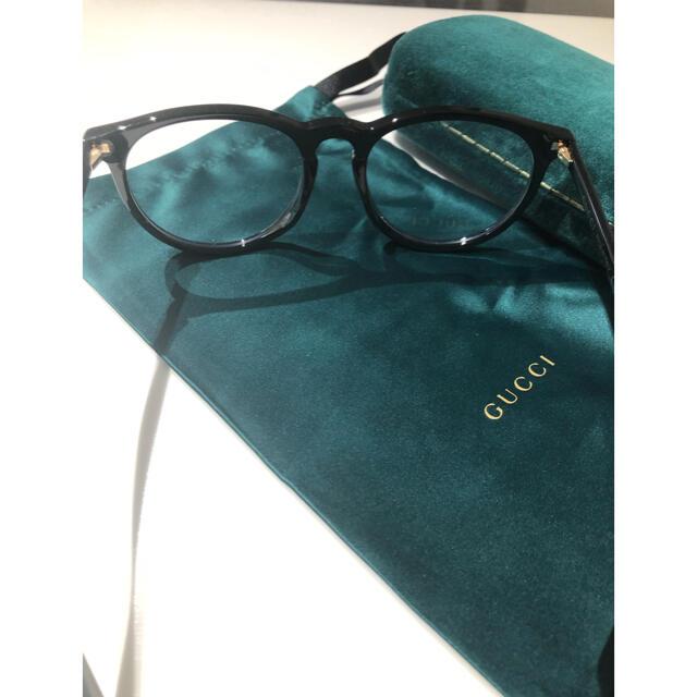 Gucci(グッチ)のGUCCI グッチ 眼鏡 サングラス ユニセックス レディースのファッション小物(サングラス/メガネ)の商品写真