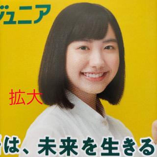 芦田愛菜 ECC ジュニア  チラシ(女性タレント)