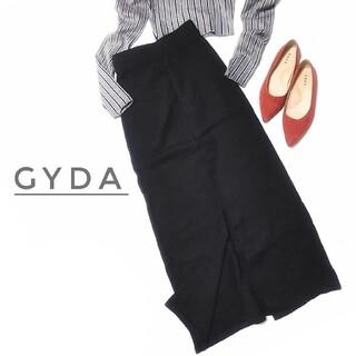 ジェイダ(GYDA)のジェイダ ニット タイトスカート ロングスカート 黒 スリット レディース(ロングスカート)