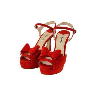 miumiu - ミュウミュウ   サンダル 靴