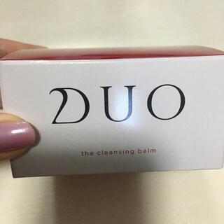新品未使用 DUO デュオ ザ クレンジングバーム 90g(クレンジング/メイク落とし)