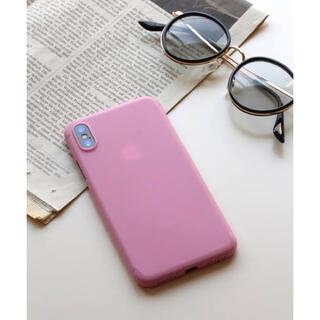 ビブジョー(VIBGYOR)のVIBGYOR Women 超軽量アイフォンケース iPhoneX対応(iPhoneケース)