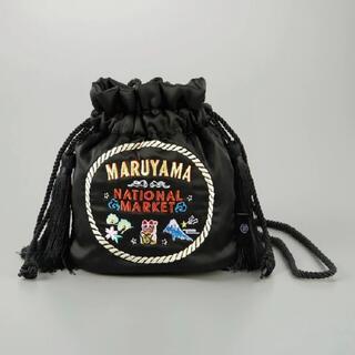 ケイタマルヤマ(KEITA MARUYAMA TOKYO PARIS)のケイタマルヤマ ×GU 巾着ショルダーバッグ (ショルダーバッグ)