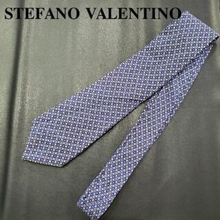ステファノバレンチノ(STEFANO VALENTINO)のSTEFANO VALENTINO ブランド ネクタイ 紺系(ネクタイ)
