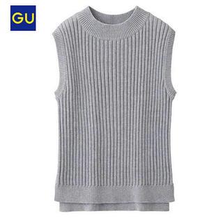ジーユー(GU)のGU ノースリーブニット(シャツ/ブラウス(半袖/袖なし))