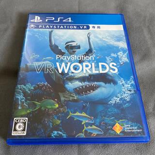 プレイステーションヴィーアール(PlayStation VR)の【良品中古】PS VR WORLDS(家庭用ゲームソフト)