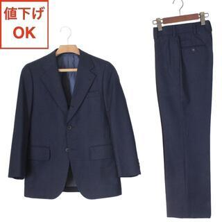 ジェイプレス(J.PRESS)の37 J.プレス スーツ Y4 メンズ スリム体 S 紺 tqe ★極美品★(セットアップ)