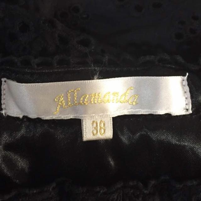 allamanda(アラマンダ)の【Allamanda】黒チュニック レディースのトップス(チュニック)の商品写真