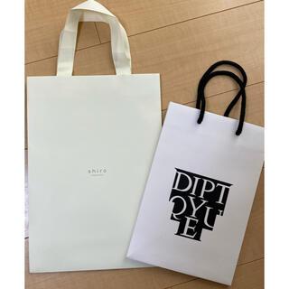 diptyque - ディップテイック shiro ショップ袋