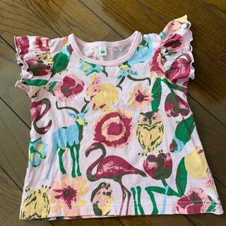 ニシマツヤ(西松屋)の【美品】Tシャツ 袖なしシャツ シャツ 80㎝(Tシャツ)