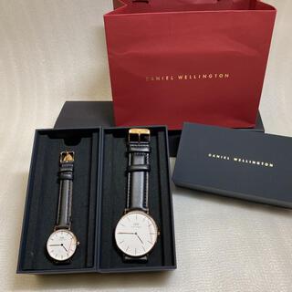ダニエルウェリントン(Daniel Wellington)の【新品BOX付き】ペアウォッチ ダニエルウェリントン 腕時計 ギフト(腕時計)