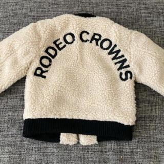 RODEO CROWNS WIDE BOWL - 新品 ロデオクラウンズ  キッズ ボアジャケット ♡