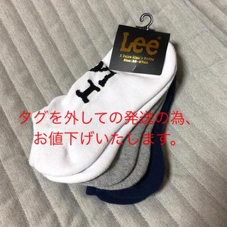 リー(Lee)のくつ下3足組(ソックス)