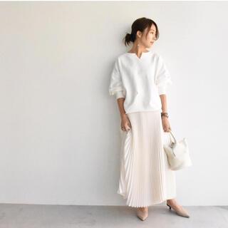 新品☆myclozette cen. スエットプルオーバー☆ホワイト(トレーナー/スウェット)