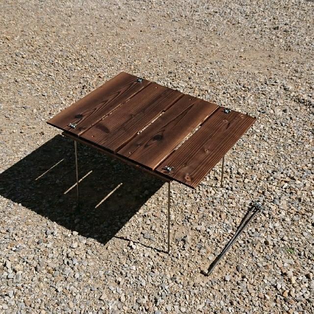 UNIFLAME(ユニフレーム)のBBQ ヘキサテーブル 91×91cm 【組立簡単、軽量、収納コンパクト】 スポーツ/アウトドアのアウトドア(テーブル/チェア)の商品写真