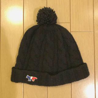 メゾンキツネ(MAISON KITSUNE')のメゾンキツネ MAISON KITSUNE ニット帽(ニット帽/ビーニー)