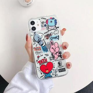 ボウダンショウネンダン(防弾少年団(BTS))の新品 bt21 iPhoneケース スマホケース(アイドルグッズ)