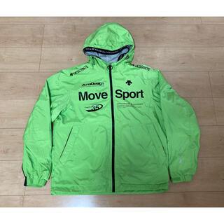 DESCENTE - デサント move sport エクスプラスサーモ ウインドブレーカ 緑 超美品