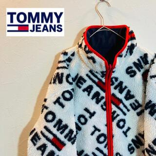トミー(TOMMY)のTomy jeans ボア リバーシブル XLサイズ ジャケット トミージーンズ(ブルゾン)