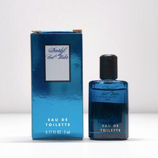 ダビドフ(DAVIDOFF)の美品 ダビドフ クールウォーター オードトワレ 香水 5ml  メンズ(香水(男性用))