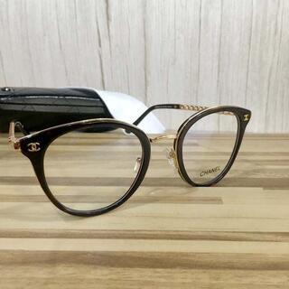 シャネル(CHANEL)のシャネル メガネ 鼈甲フレーム ココマーク3364(サングラス/メガネ)