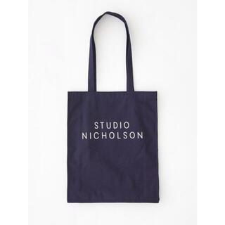 サンシー(SUNSEA)の【正規品】STUDIO NICHOLSON スタジオニコルソン トートバッグ(トートバッグ)