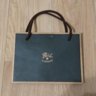 イルビゾンテ(IL BISONTE)のIL BISONTE 紙袋(ショップ袋)