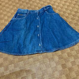 カルバンクライン(Calvin Klein)のカルバンクライン・デニムスカート(ミニスカート)