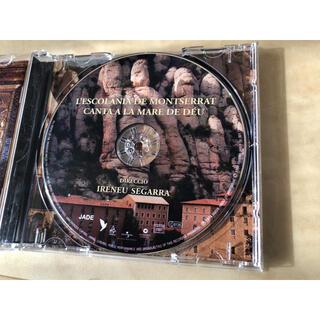 バルセロナで購入した モンセラのコーラスのCD(宗教音楽)