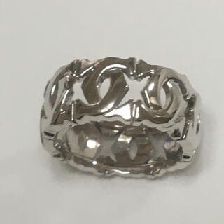 カルティエ(Cartier)の新品仕上げ★K18WG カルティエ アントルラセリング(リング(指輪))