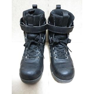 ミドリアンゼン(ミドリ安全)の安全靴 24.5cm アンクルガード付 ミドリ安全 先芯 外箱つき(その他)