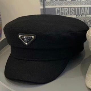 プラダ(PRADA)のPRADAのキャスケット帽子(キャスケット)