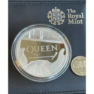 ⭐️希少 新品 英国 QUEEN 5オンス 10ポンド プルーフ銀貨 限定品(その他)