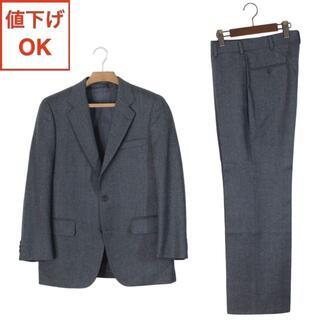 ジェイプレス(J.PRESS)の40 J.プレス スーツ A6 メンズ L ヘリンボーン tqe 秋冬春 極美品(セットアップ)