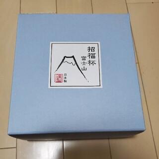 トウヨウササキガラス(東洋佐々木ガラス)の招福杯富士山冷酒セット(グラス/カップ)